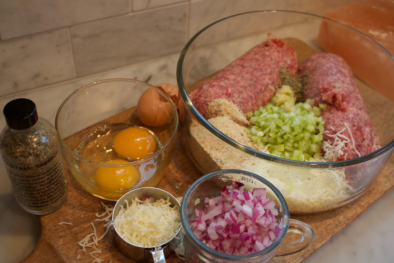 Sausage balls ingredients