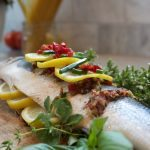 Mediterranean Inspired Roasted Whole Fish