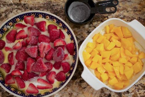 Fresh or Frozen Fruit Cobbler Dessert Simple Fast