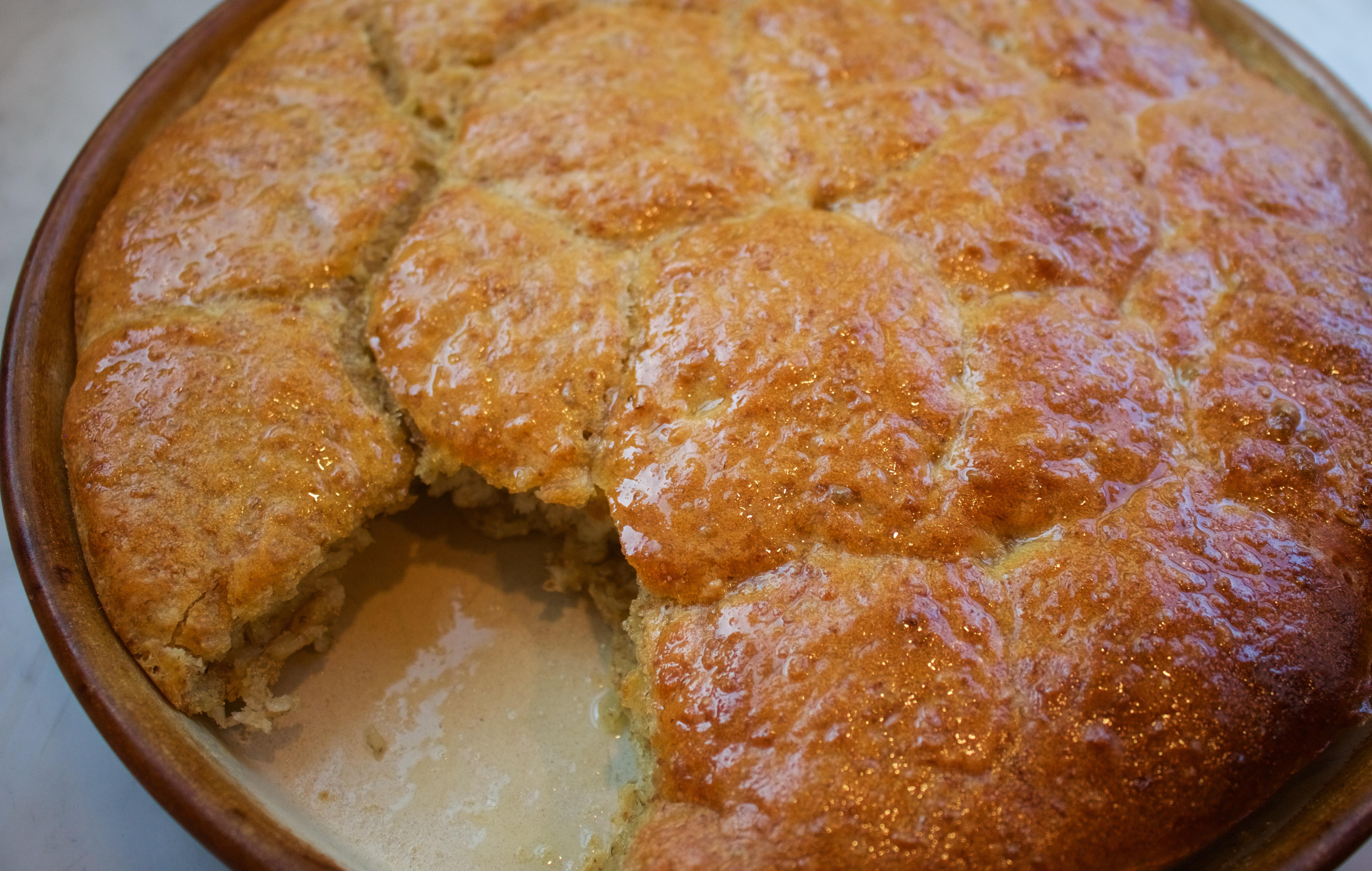 Homemade no-knead bread recipe