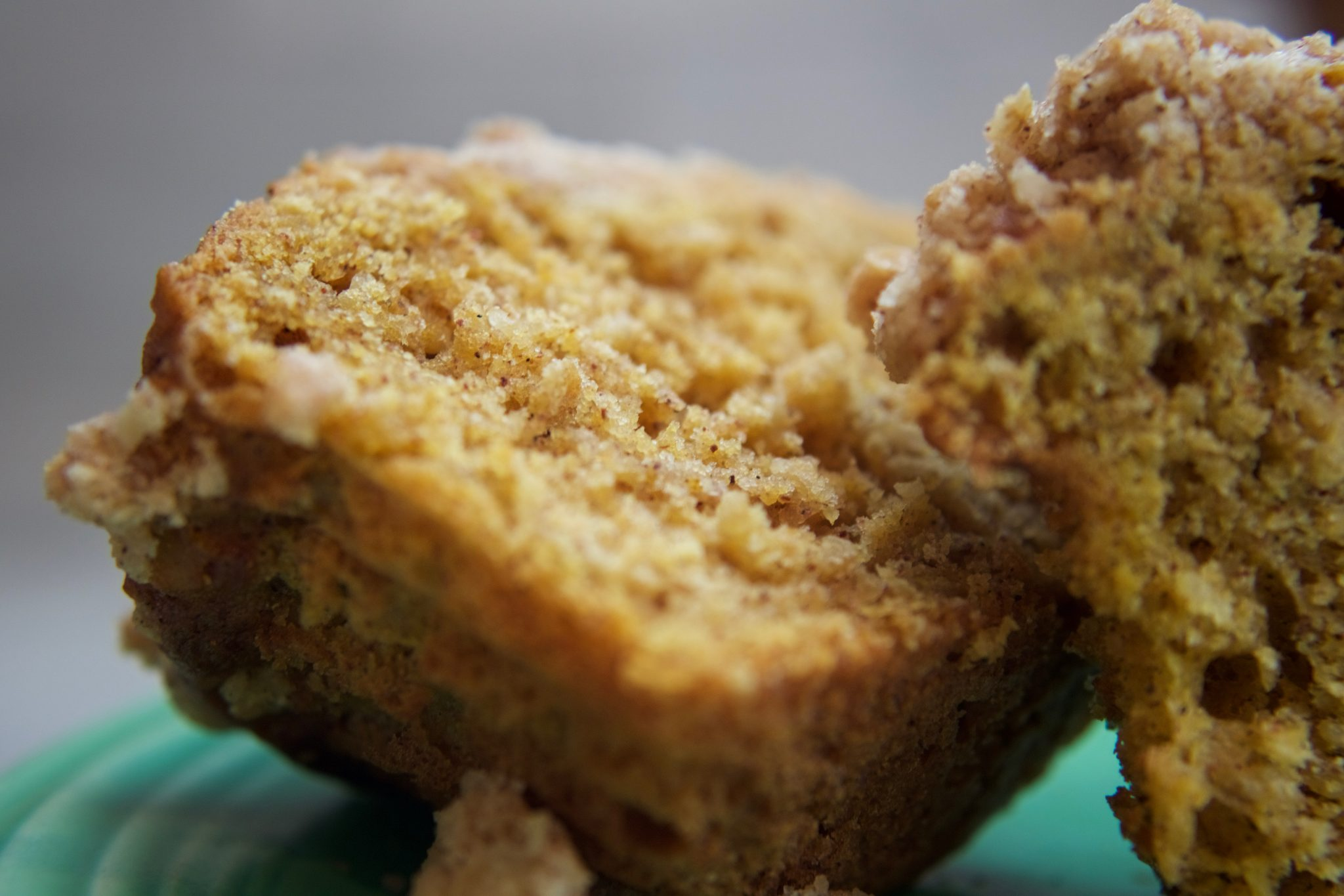 homemade bakery style muffin vanilla bean freshly ground nutmeg