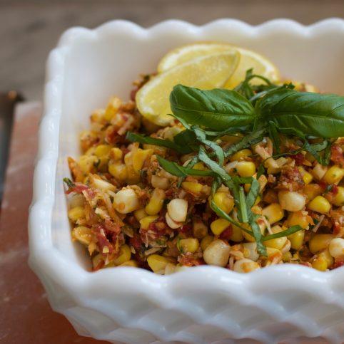 Corn Salad with Sun-dried Tomatoes