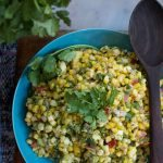 Corn Salad with Roasted Red Peppers