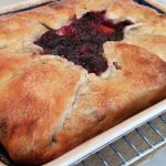 Rustic Pie uses single pie crust and frozen fruit