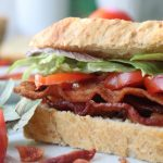 Perfect BLT & Homemade Bread