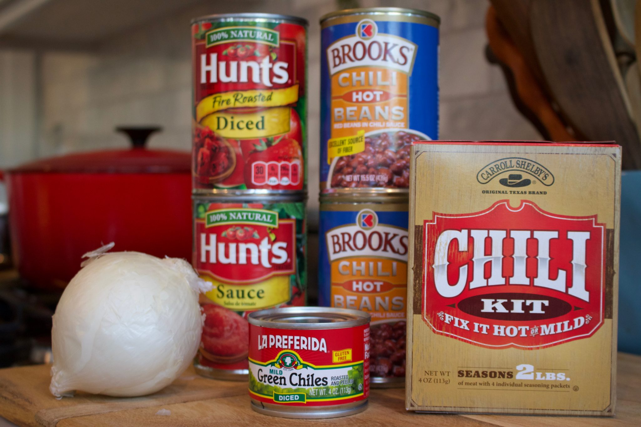 Quick and Easy Chili Ingredients