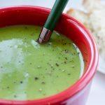 Green Pea Soup (Frozen Peas)