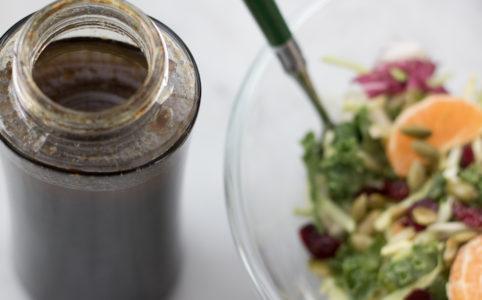 Olive oil and balsamic vinaigrette