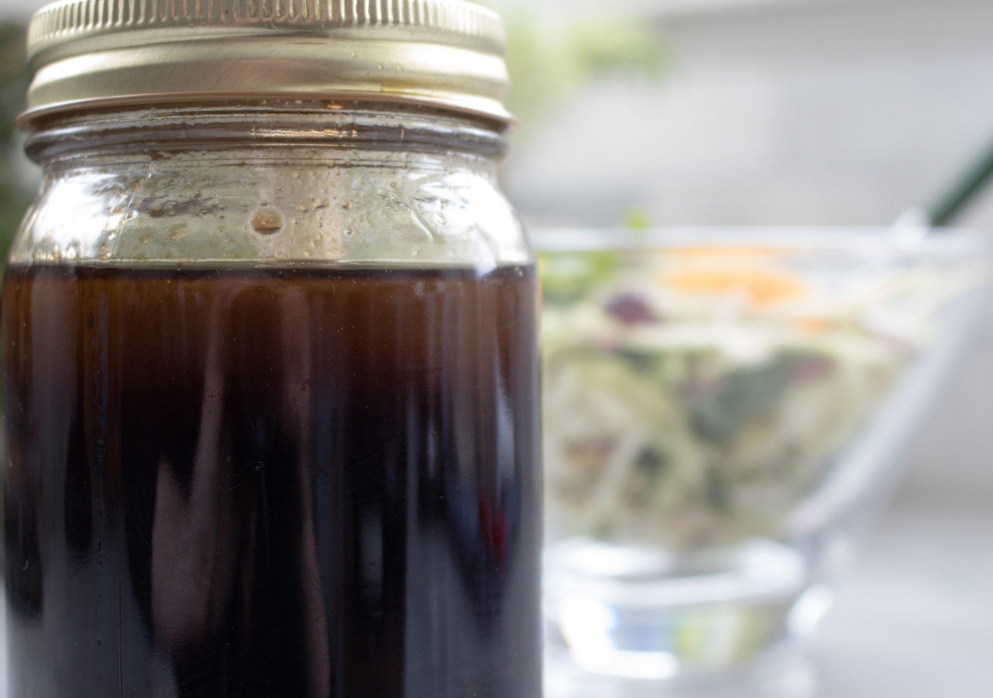Olive oil and balsamic vinaigrette