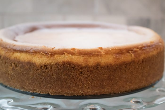 Cheesecake crust