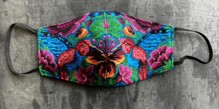 Colorful Guatemalan handmade mask